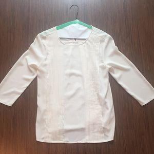 Off-white blouse
